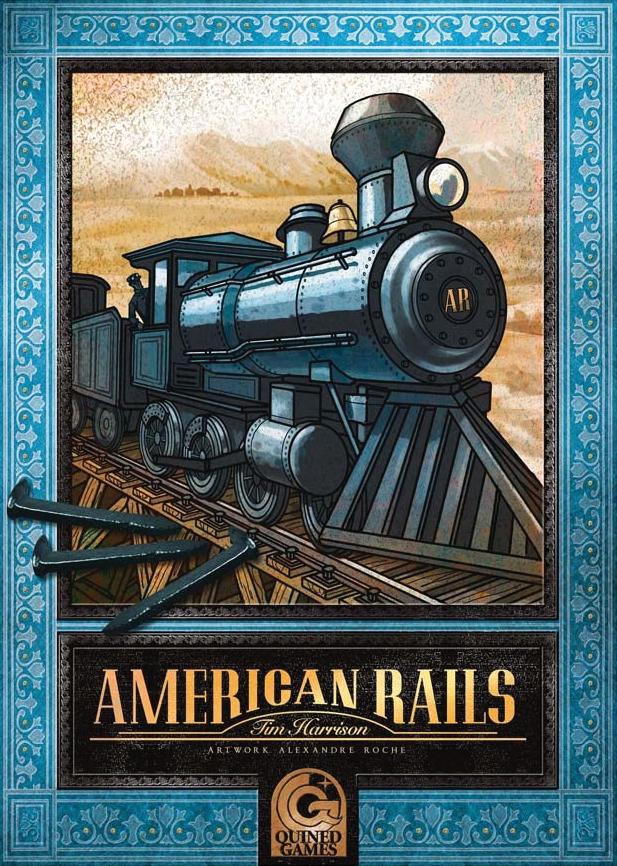American Rails Box Front