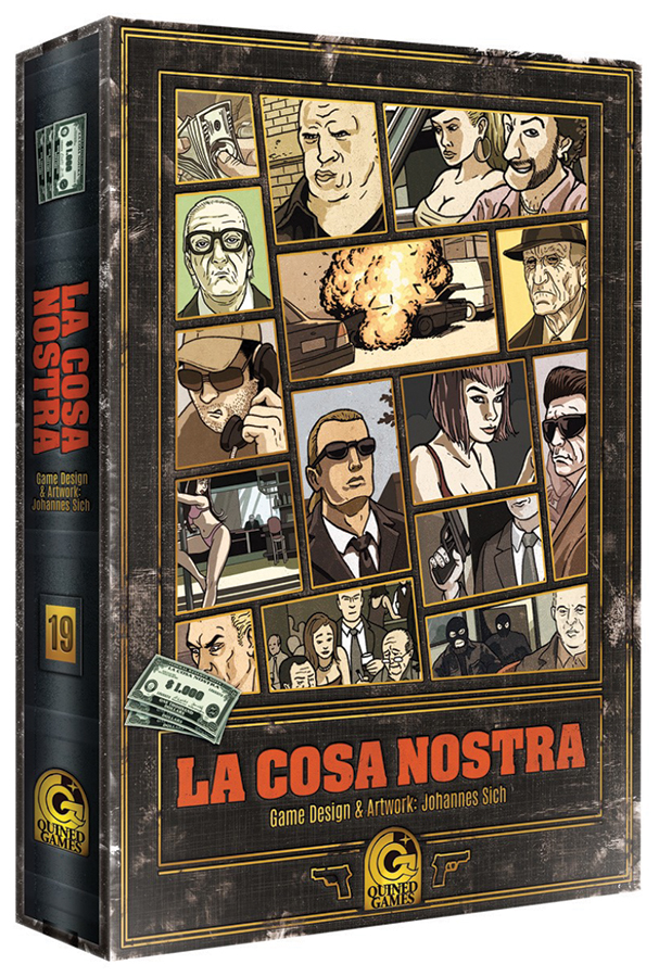 La Cosa Nostra Game Box