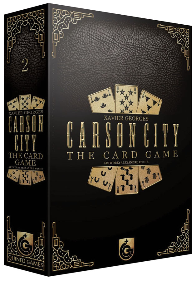 Carson City: The Card Game Game Box