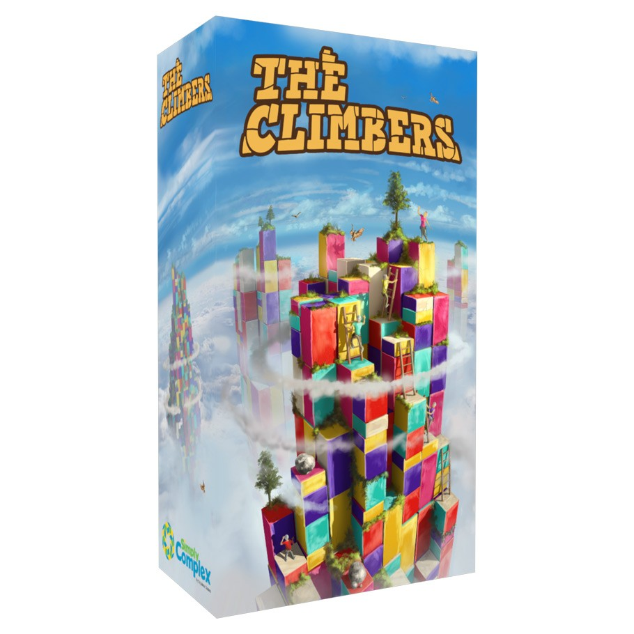 The Climbers Demo Copy Game Box