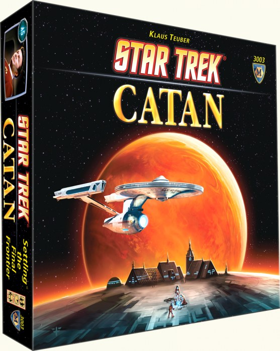 Star Trek Catan (stand Alone) Box Front