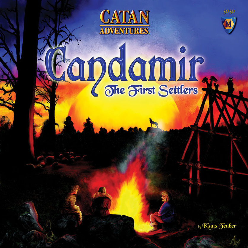 Catan: Candamir First Settlers (stand Alone) Box Front