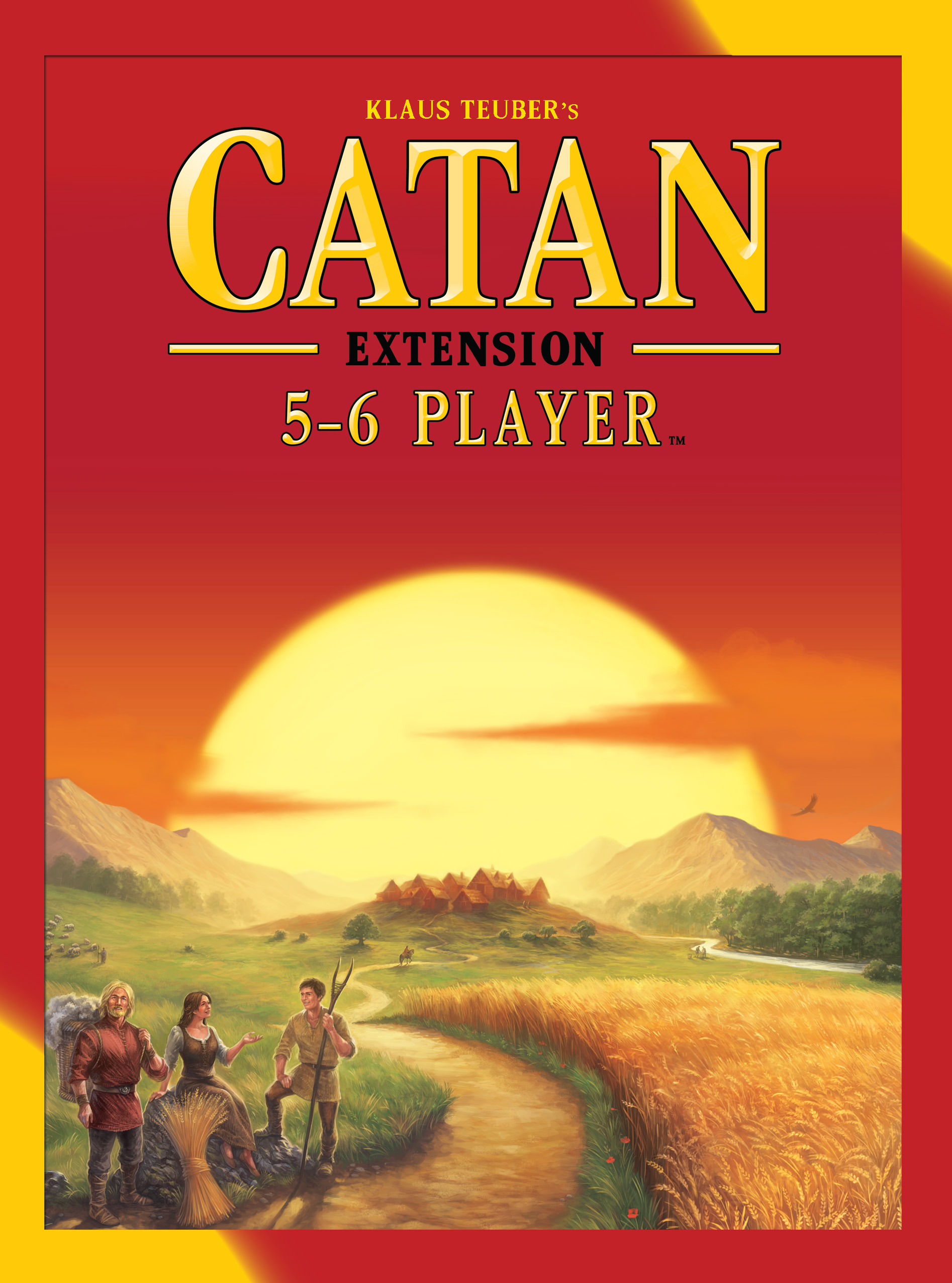 Catan: 5-6 Player Extension Box Front