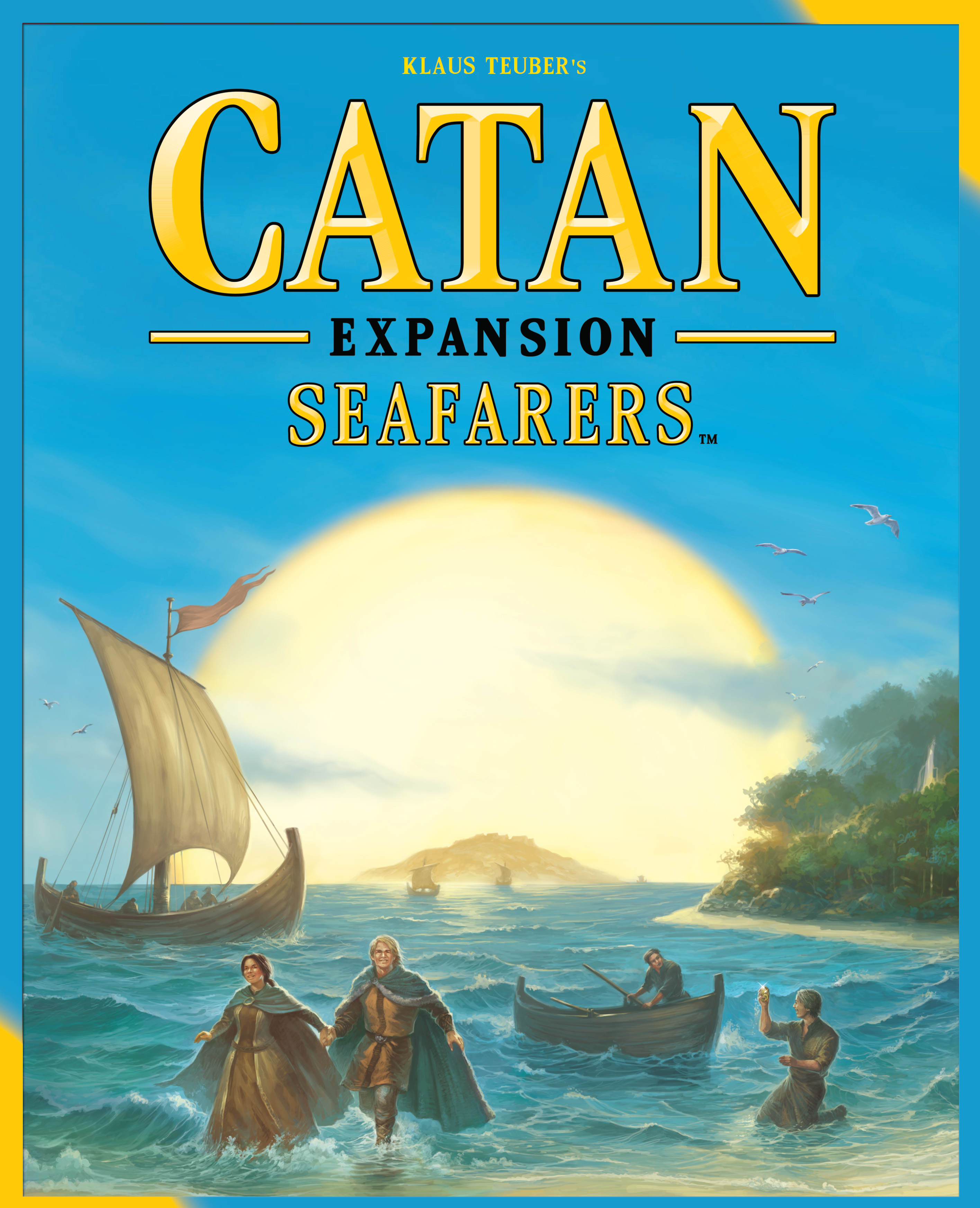 Catan: Seafarers Game Expansion Box Front