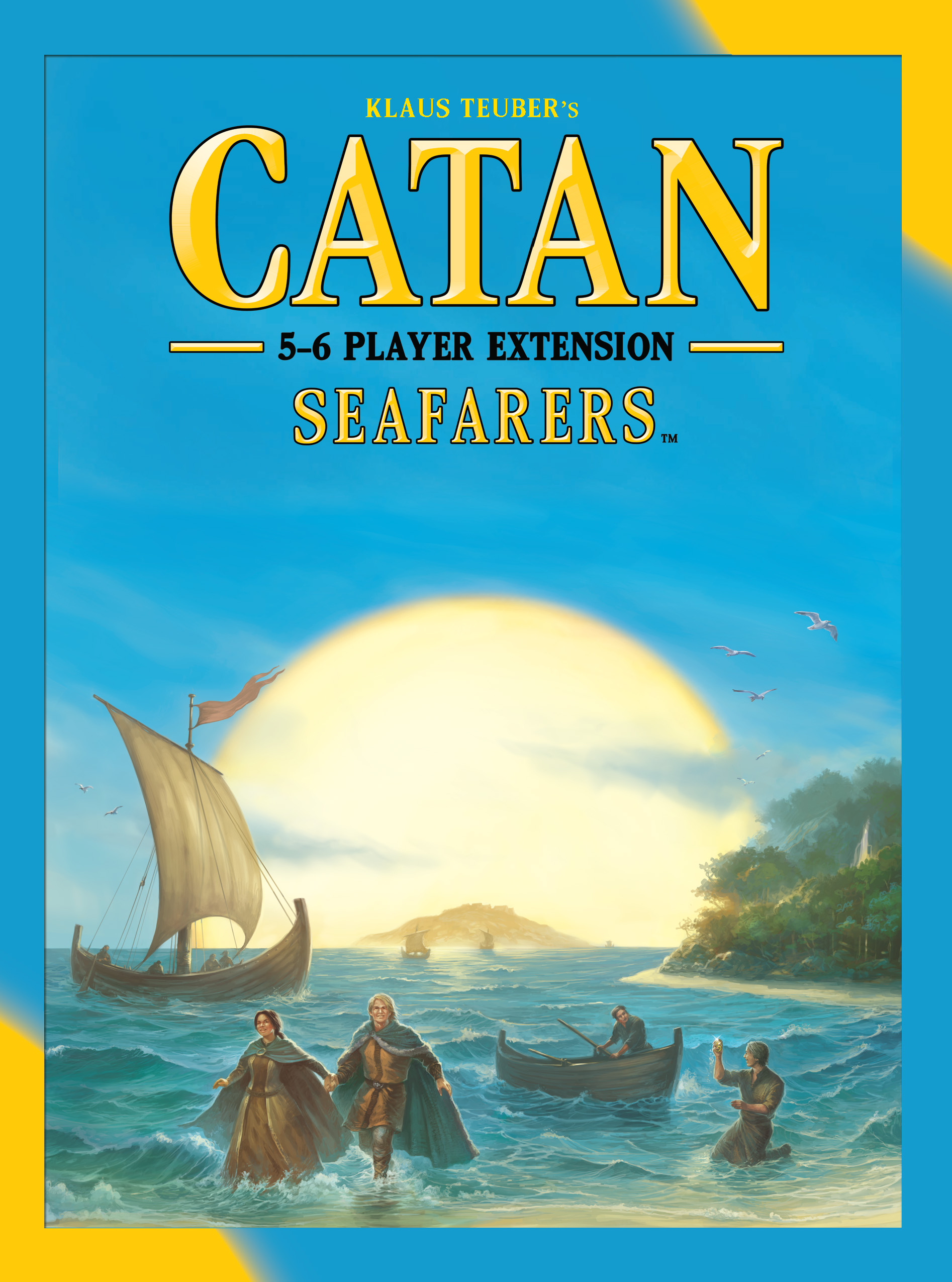 Catan: Seafarers 5-6 Player Extension Box Front