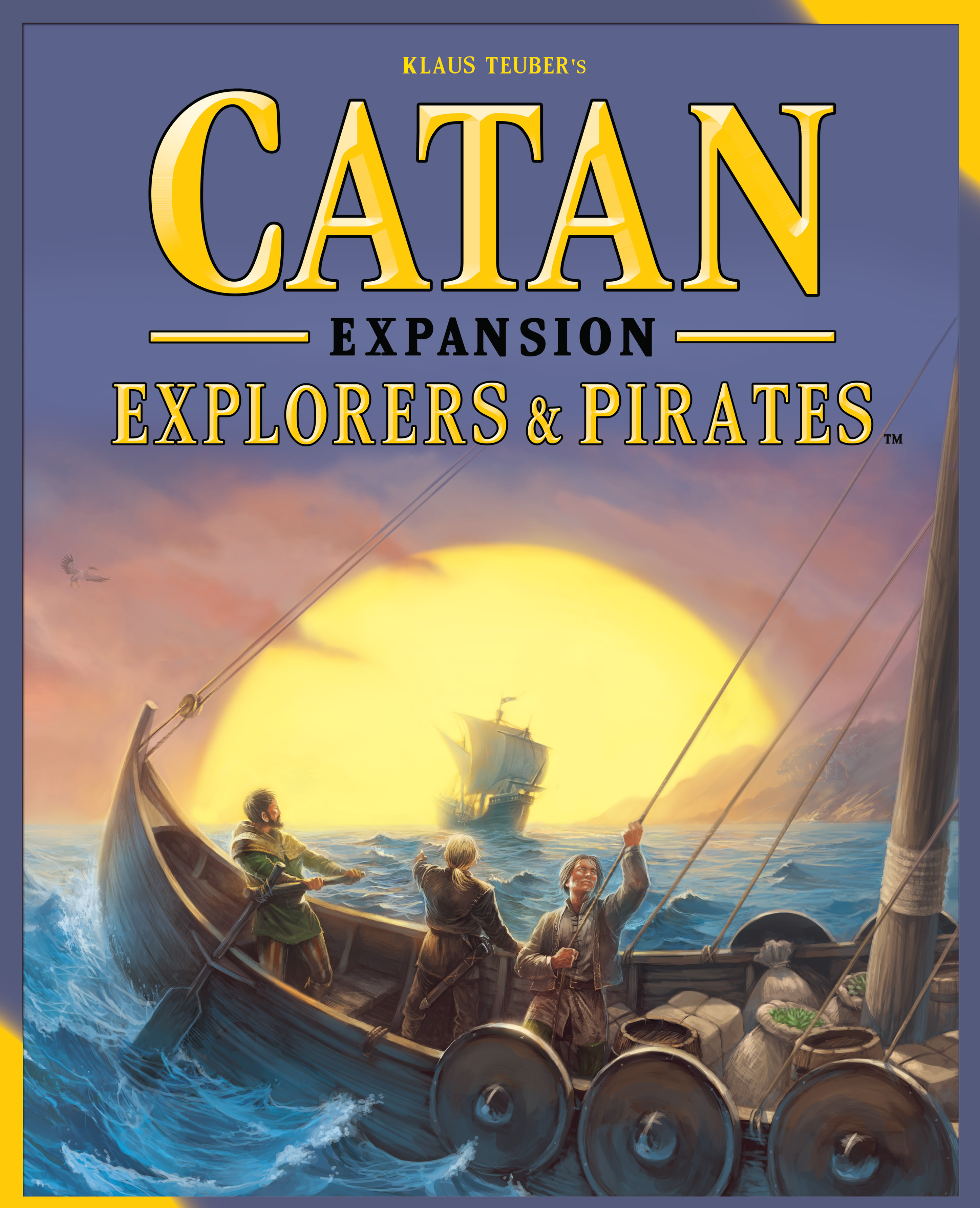 Catan: Explorers And Pirates Expansion Box Front