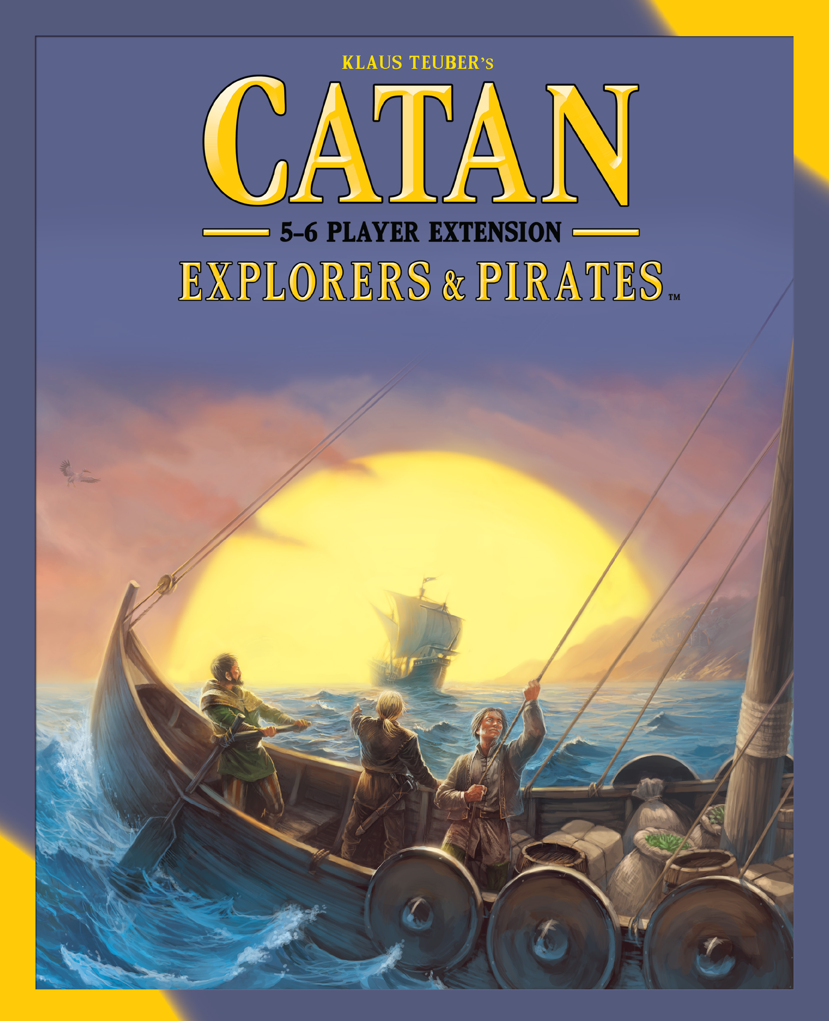 Catan: Explorers And Pirates 5-6 Player Extension Box Front