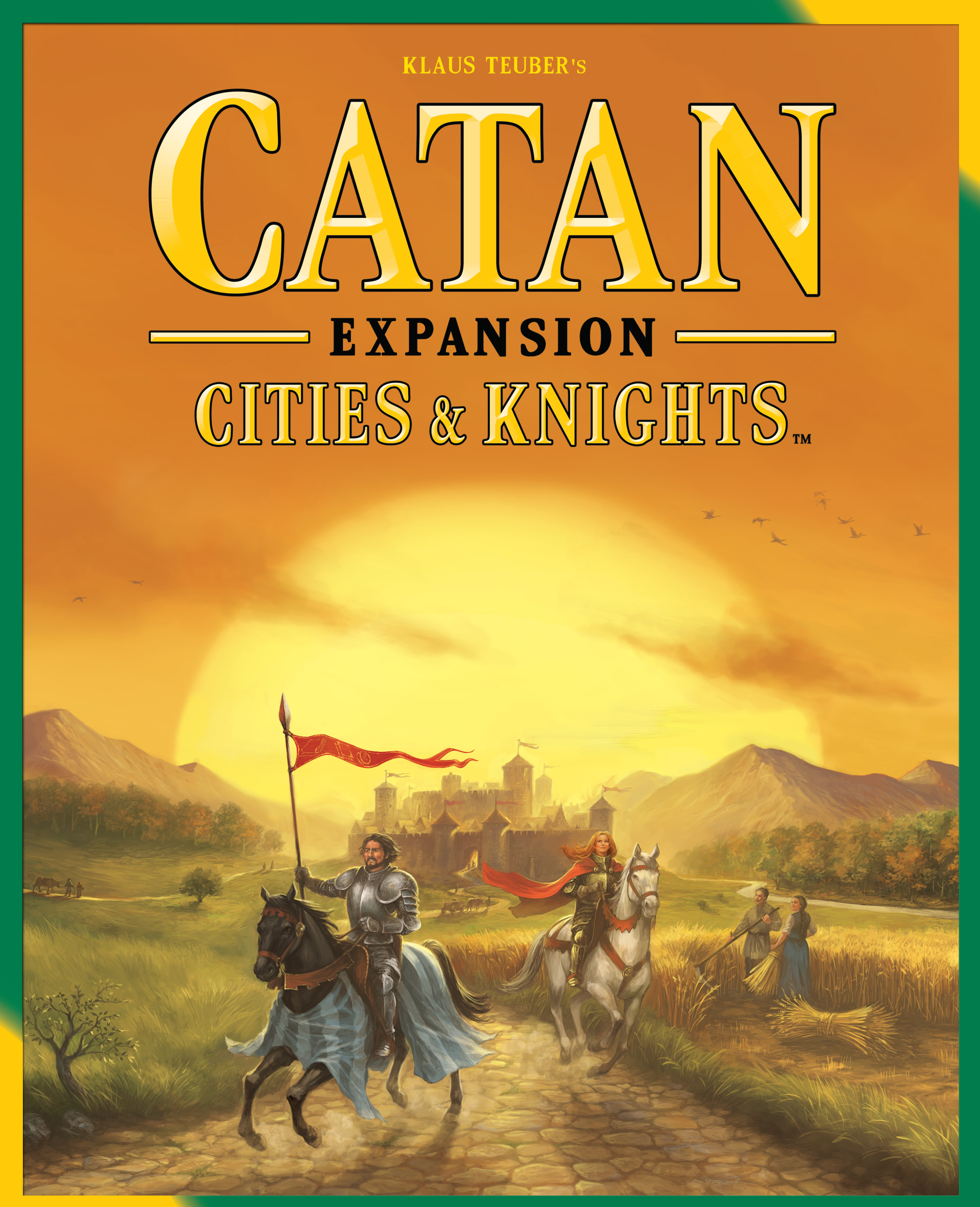 Catan: Cities And Knights Game Expansion Box Front