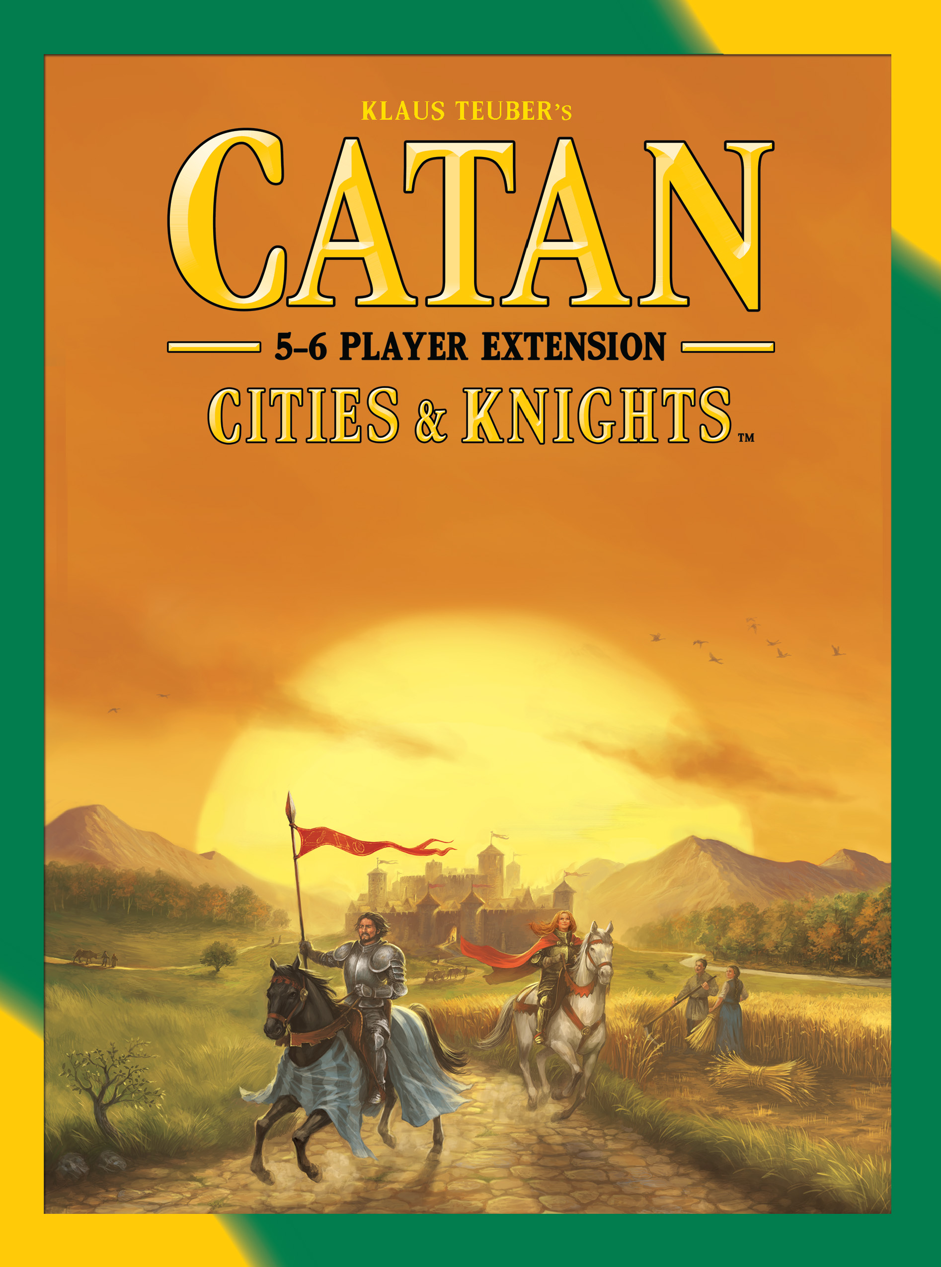 Catan: Cities And Knights 5-6 Player Extension Box Front