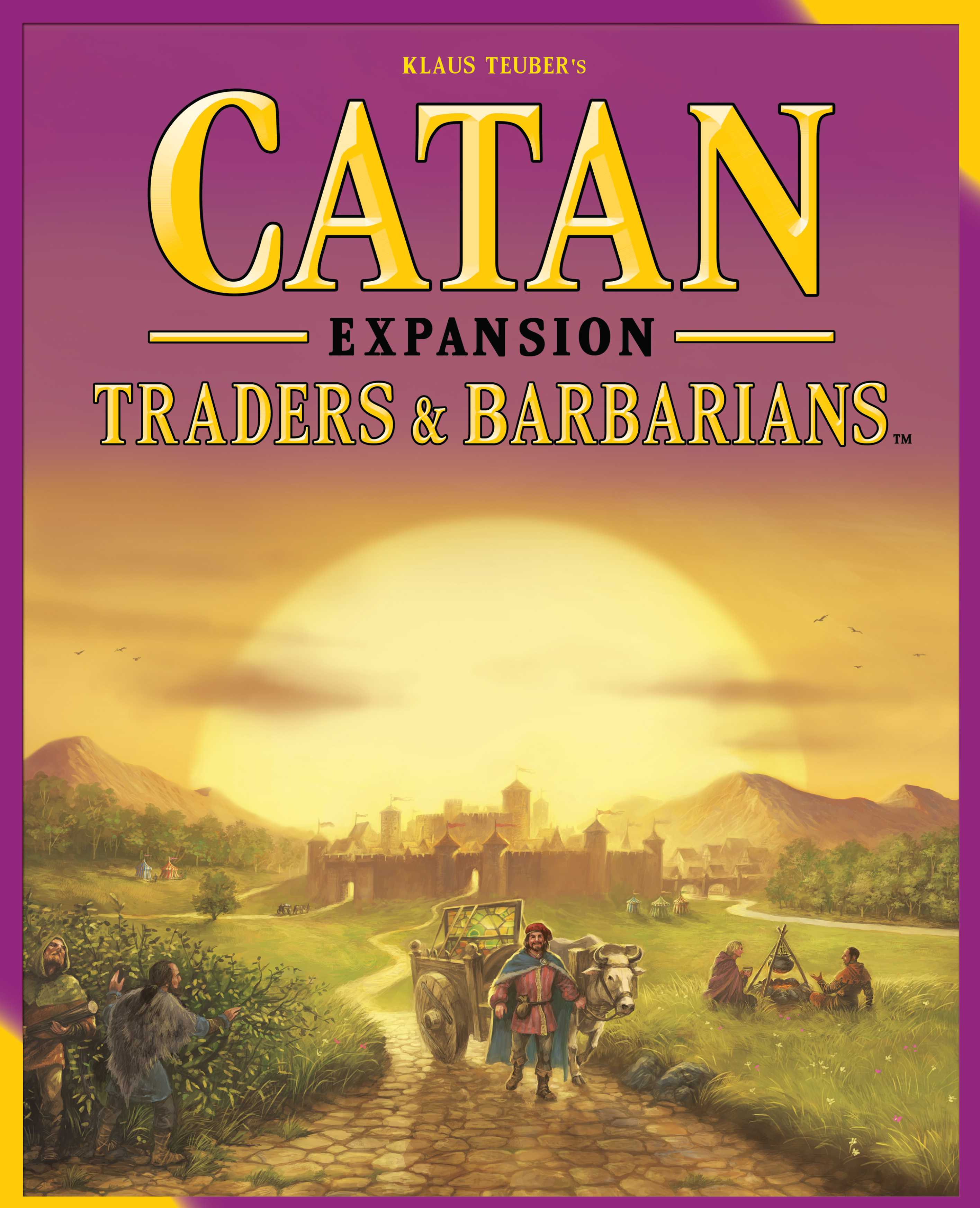 Catan: Traders And Barbarians Expansion Box Front