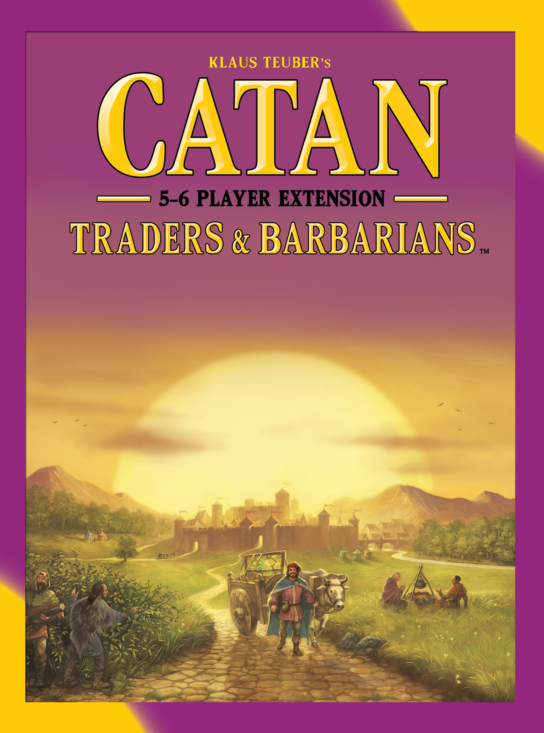 Catan: Traders And Barbarians 5-6 Player Extension Box Front