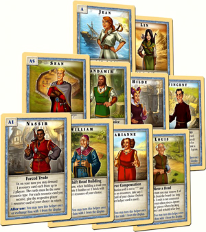 Catan: Scenario - The Helpers Of Catan Box Front