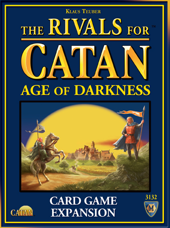 Catan: Rivals Of Catan - Age Of Darkness Expansion Box Front
