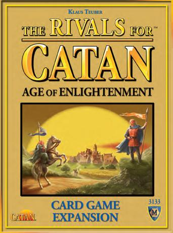 Catan: Rivals Of Catan - Age Of Enlightenment Expansion Box Front