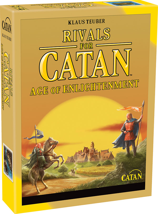 Catan: Rivals For Catan - Age Of Enlightenment Expansion (revised) Game Box