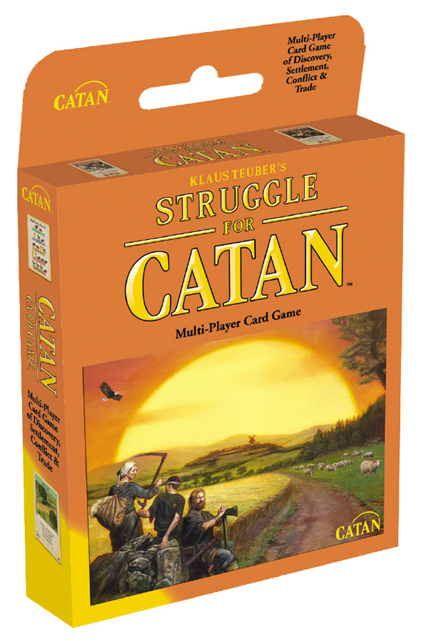 Catan: Struggle For Catan (stand Alone) Box Front