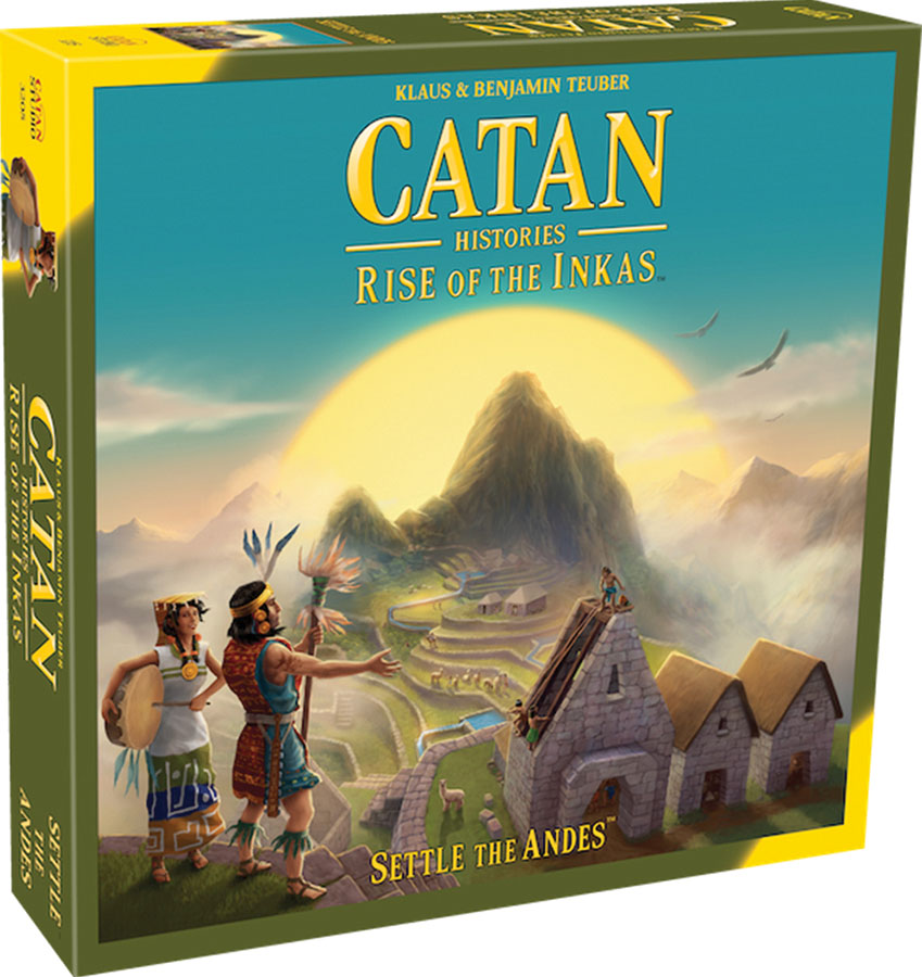 Catan: Catan Histories - Rise Of The Inkas (stand Alone) Box Front