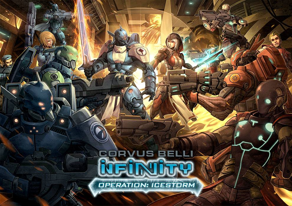 Infinity: Operation Icestorm Box Front