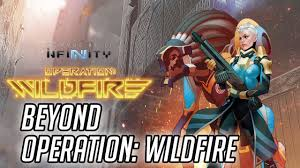 Infinity: Beyond Wildfire Expansion Pack Game Box