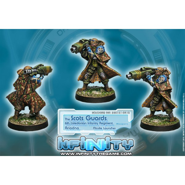 Infinity: Ariadna Scots Guards 6th Caledonian Infantry Regiment Box Front