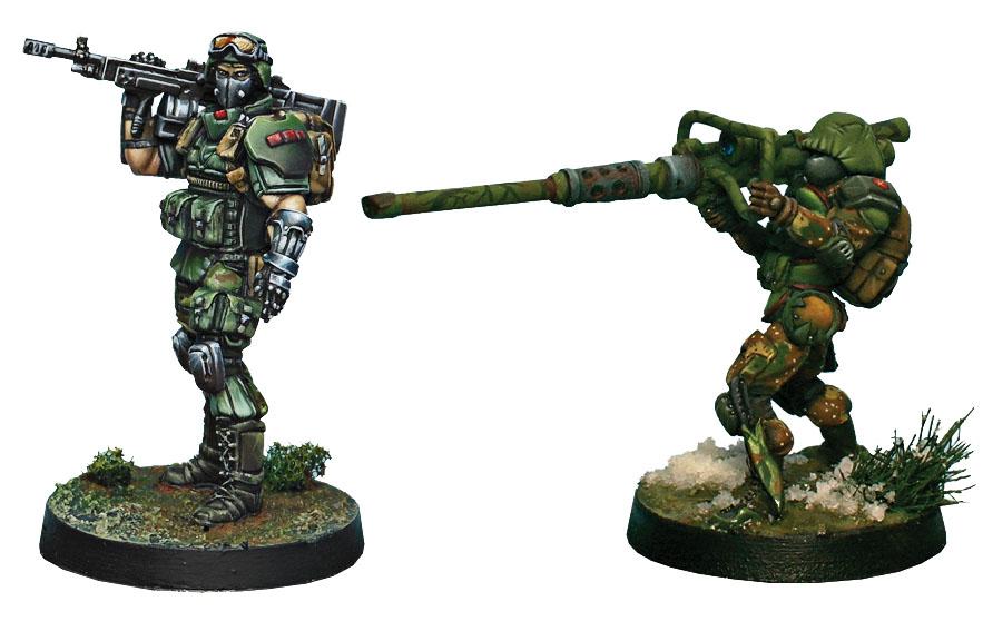 Infinity: Ariadna Tankhunters Game Box