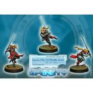 Infinity: Panoceania Jeanne Darc 2.0 (mobility Armor) (spitfire) Box Front