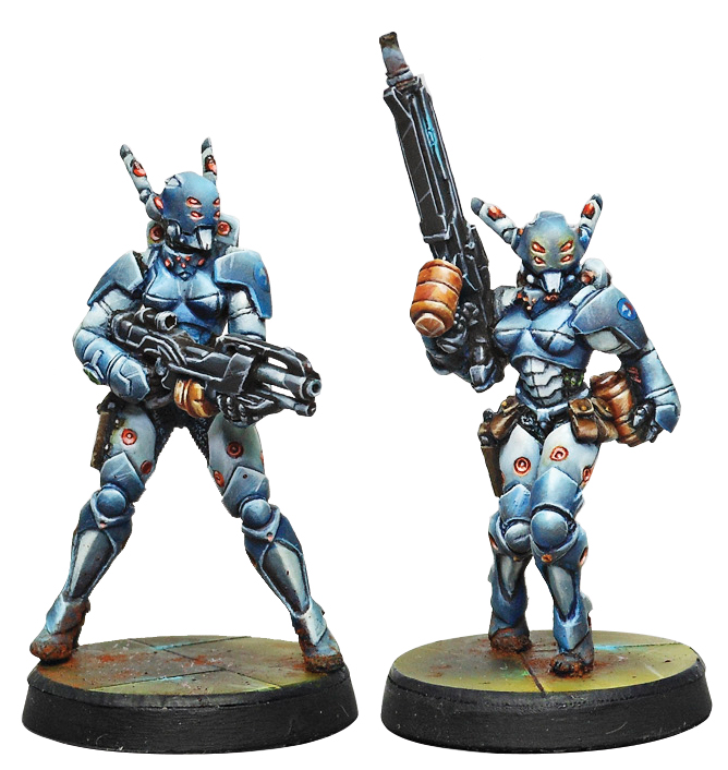 Infinity: Panoceania Orc Troops (hmg/boarding Shotgun) Box Front