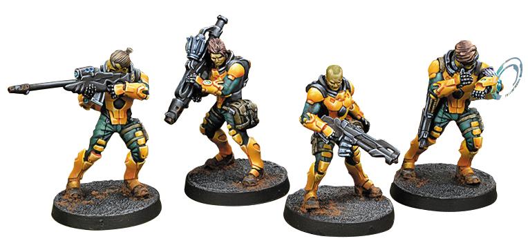 Infinity: Yu Jing Zhanshi (troops Of The Banner) (4) Box Front