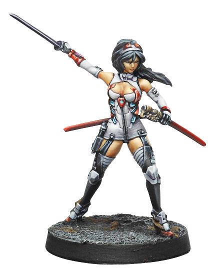 Infinity: Yu Jing O-yoroi Pilot Box Front
