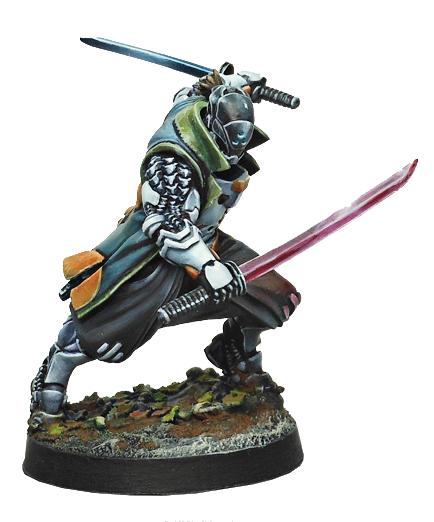 Infinity: Yu Jing Shikami (combi Rifle) Box Front
