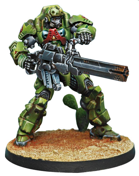 Infinity: Haqqislam Special Deterrance Group Azrail (feuerbach) Box Front