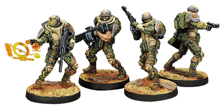 Infinity: Haqqislam Djanbazan Tactical Group Box Front