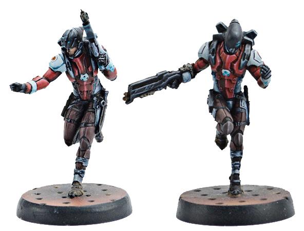 Infinity: Nomads Hellcats (hacker/boarding Shotgun) Box Front