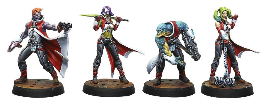 Infinity: Nomads Die Morlock Gruppe Box Front