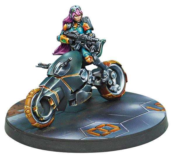 Infinity: Mercenaries Authorized Bounty Hunter (boarding Shotgun Booty L2: Bike) Box Front