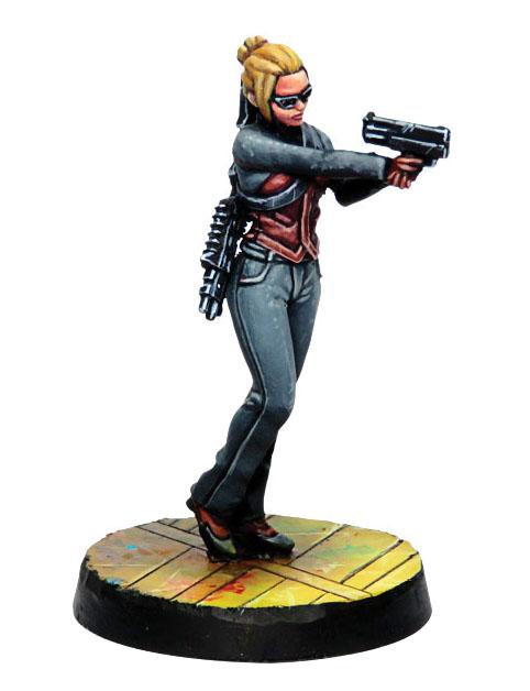 Infinity: Mercenaries Csu, Corporate Security Unit (boarding Shotgun) Game Box
