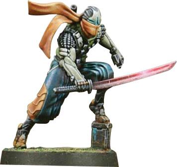 Infinity: Na2 Saito Togan, Mercenary Ninja (combi Rifle) Game Box