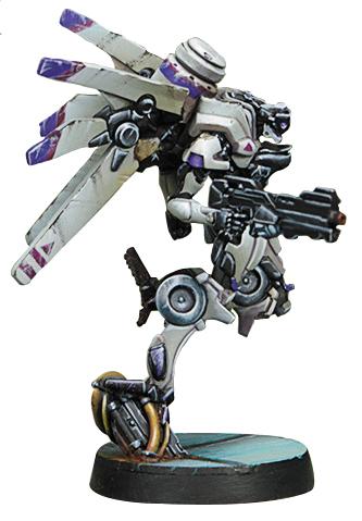 Infinity: Aleph Garuda Tactbots (spitfire) Box Front