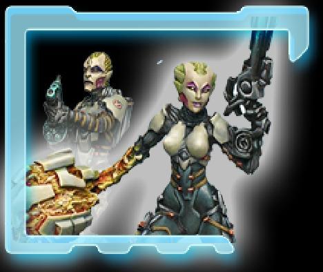 Infinity: Tohaa Kamael Light Infantry Box Front