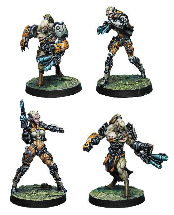 Infinity: Tohaa Rasail Boarding Team Box Front