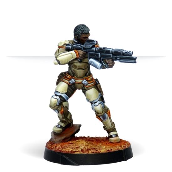 Infinity: Haqqislam Namurr Active Response Unit (spitfire)