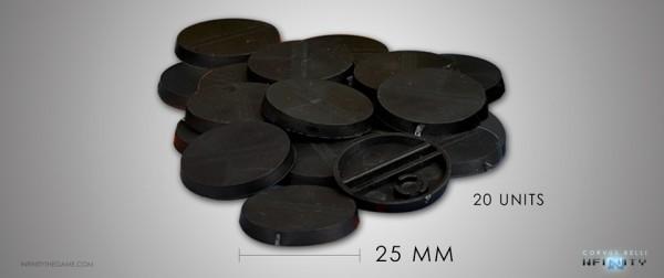 Infinity: Bases 25mm (20)