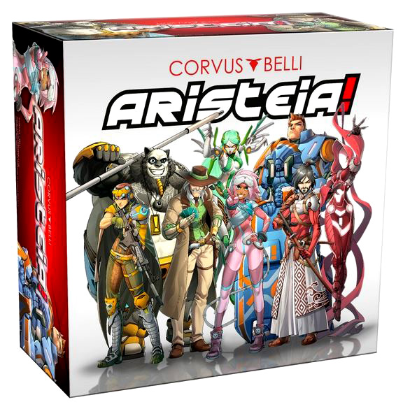 Aristeia! Box Front