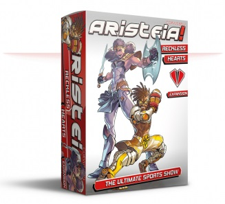 Aristeia! Reckless Hearts Game Box