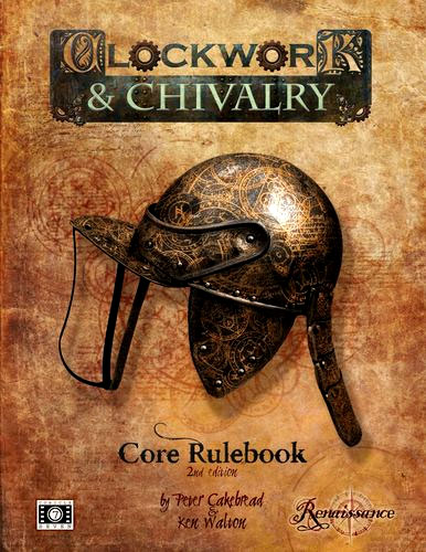 Clockwork & Chivalry Core Rulebook 2nd Edition Box Front