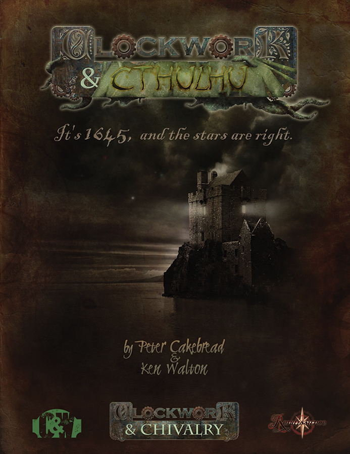 Clockwork & Chivalry: Clockwork & Cthulhu Box Front