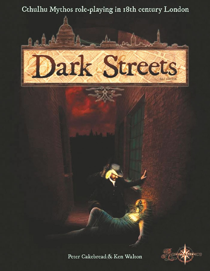 Dark Streets: 2nd Edition Core Rulebook Box Front