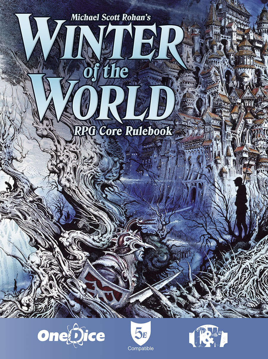 Winter Of The World: Adventures In Brasayhal - Core Rulebook Box Front