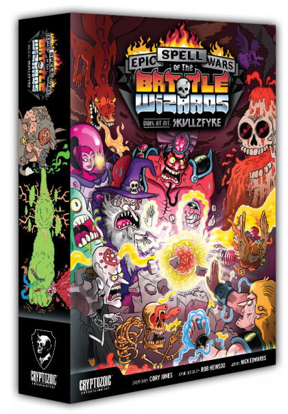 Epic Spell Wars Of The Battle Wizards 1: Duel At Mount Skullzfyre Box Front