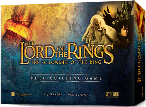 The Lord Of The Rings: The Fellowship Of The Ring Deck-building Game Box Front